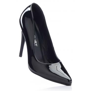 Pumps mit 11 cm High-Heel in schwarz von bonprix