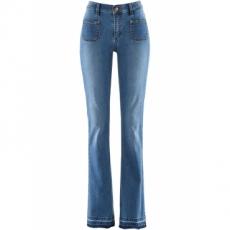 Push-up-Jeans im Bootcut – designt von Maite Kelly in blau für Damen von bonprix