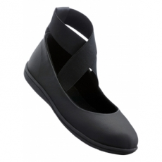 Riemenballerina in schwarz für Damen von bonprix