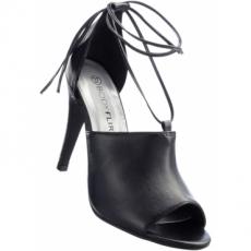 Sandalette mit 10,5 cm High-Heel in schwarz von bonprix