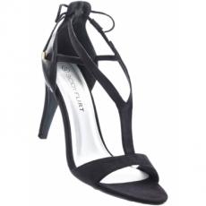 Sandalette mit 10 cm High-Heel in schwarz von bonprix