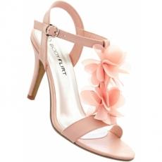 Sandalette mit 8,5 cm Pfennigabsatz - Stiletto in rosa von bonprix
