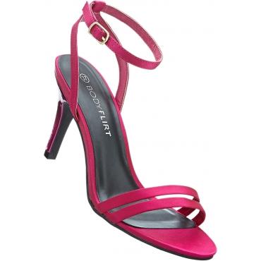 Sandalette mit 8 cm Pfennigabsatz - Stiletto in pink von bonprix
