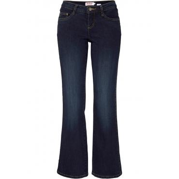 Schlankmacher Stretch-Jeans BOOTCUT in blau für Damen von bonprix