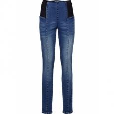 Schlupf-Stretch-Jeans Body-Former SKINNY in blau für Damen von bonprix