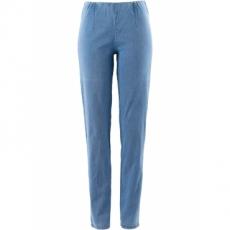 Schmale Stretchjeans in blau für Damen von bonprix