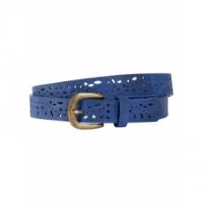 schmaler Gürtel mit Lasercut in blau für Damen von bonprix