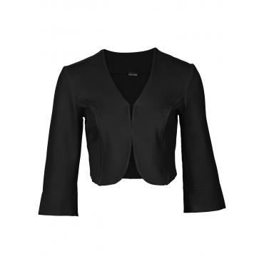 Scuba-Bolero in schwarz für Damen von bonprix