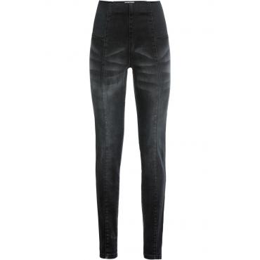 Shaping-Jeggings in schwarz für Damen von bonprix