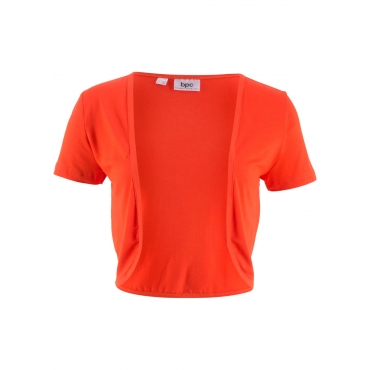 Shirt-Bolero kurzer Arm  in orange für Damen von bonprix