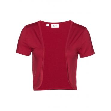 Shirt-Bolero kurzer Arm  in rot für Damen von bonprix