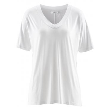 Shirt, Halbarm in weiß für Damen von bonprix