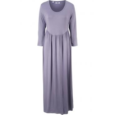Shirt-Kleid mit 3/4-Ärmeln 3/4 Arm  in lila von bonprix