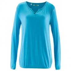 Shirt, Langarm in blau für Damen von bonprix