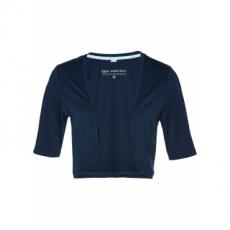 Shirtbolero halber Arm  in blau für Damen von bonprix