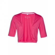 Shirtbolero halber Arm  in pink für Damen von bonprix