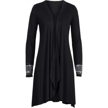 Shirtjacke langarm  in schwarz für Damen von bonprix