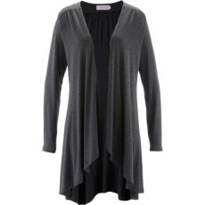 Shirtjacke mit langen Ärmeln – designt von Maite Kelly langarm  in grau für Damen von bonprix