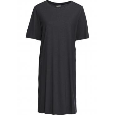 Shirtkleid 3/4 Arm  in schwarz (Rundhals) von bonprix