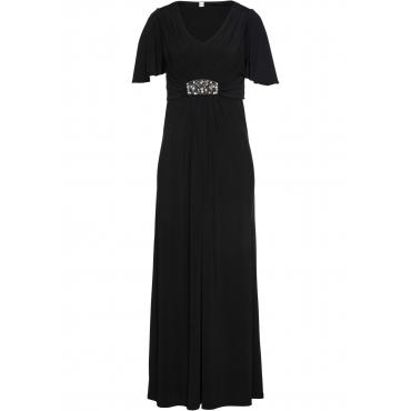 Shirtkleid Flügelärmel  in schwarz für Damen von bonprix