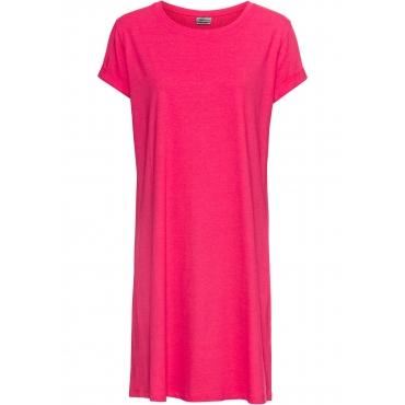 Shirtkleid kurzer Arm  in pink (Rundhals) für Damen von bonprix