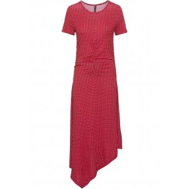 Shirtkleid kurzer Arm  in rot (Rundhals) von bonprix