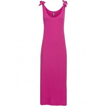 Shirtkleid ohne Ärmel  in pink von bonprix
