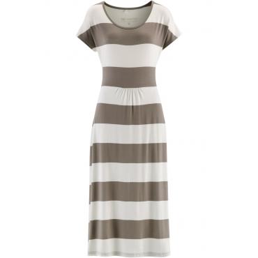 Shirtkleid ohne Ärmel  in weiß (Rundhals) von bonprix