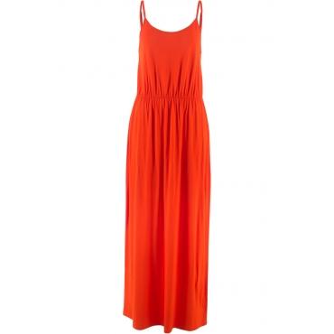 Shirtkleid, ohne Arm in orange von bonprix