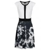 Shirtkleid/Sommerkleid kurzer Arm  in schwarz (Rundhals) von bonprix