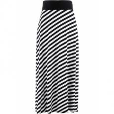 Shirtrock in schwarz für Damen von bonprix