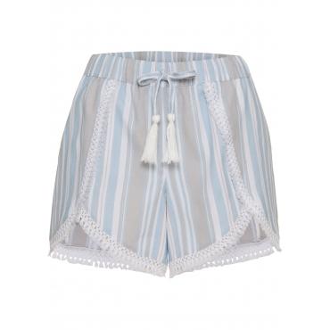 Shorts in grau für Damen von bonprix