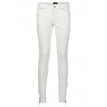 Skinny Jeans in weiß für Damen von bonprix