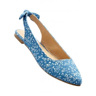 Sling Ballerina in blau für Damen von bonprix