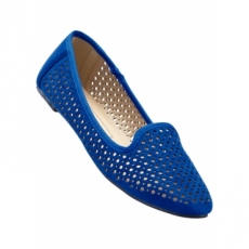 Slipper in blau von bonprix