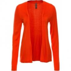 Sommer-Cardigan langarm  in orange für Damen von bonprix