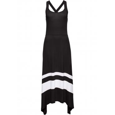 Sommerkleid ohne Ärmel  in schwarz von bonprix