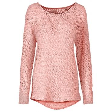 Spitzenshirt in rosa für Damen von bonprix