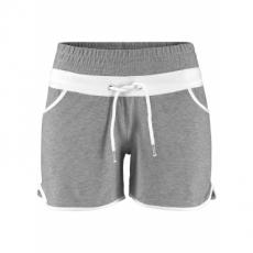 Sport-Shorts in grau für Damen von bonprix
