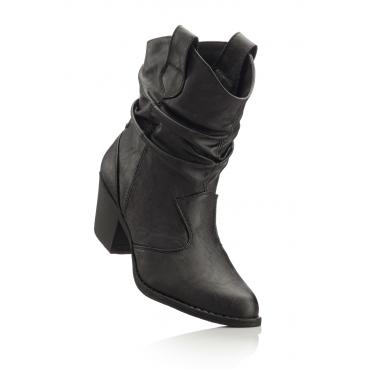 Stiefelette in schwarz für Damen von bonprix