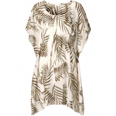 Strandkleid kurzer Arm  in beige für Damen von bonprix