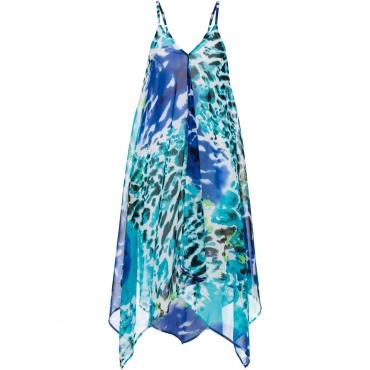 Strandkleid in blau von bonprix