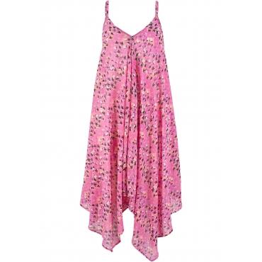 Strandkleid ohne Ärmel  in lila für Damen von bonprix