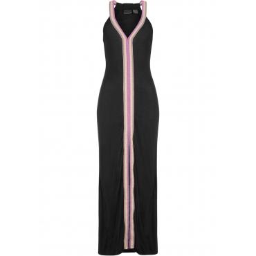 Strandkleid ohne Ärmel  in schwarz für Damen von bonprix