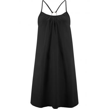 Strandkleid in schwarz von bonprix
