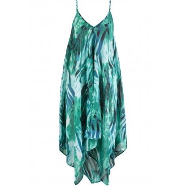 Strandkleid ohne Ärmel  in grün für Damen von bonprix