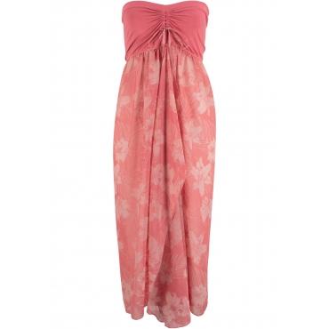 Strandkleid ohne Ärmel  in rosa für Damen von bonprix