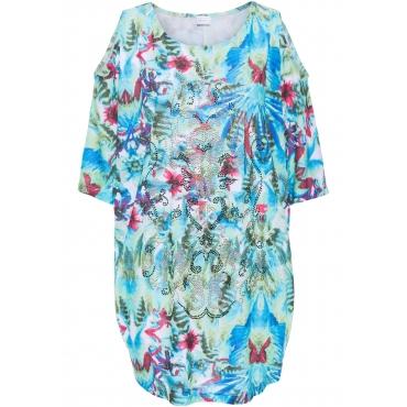 Strandshirt in blau von bonprix