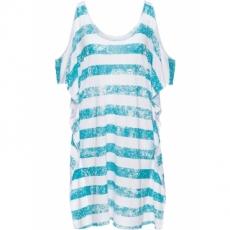 Strandshirt in weiß von bonprix