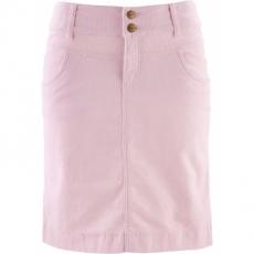 Stretch-Cordrock in rosa für Damen von bonprix